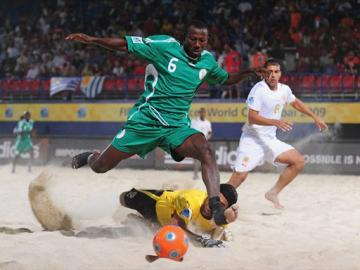Supersand Eagles Arrives Morocco For Qualifiers.