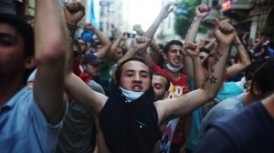 Istanbul protest