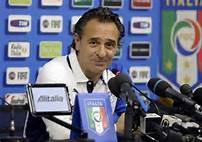 Azzuris Head Coach, Cesare Prandelli.