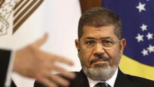 Egyptian president Mohammad Mursi