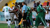Flying eagles Celebrates With the Bench. Coach Obuh Charges Them to Do More,