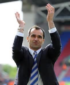 Roberto Martinez joins Everton.