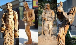 Simferopol-wood-sculptures