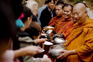 Thai monk