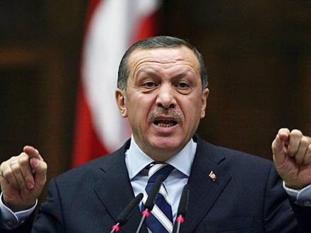 Turkey's PM,  Recep Tayyip Erdogan