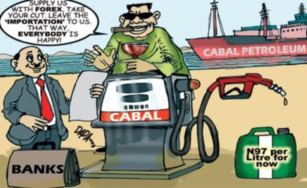oil subsidy cartoon