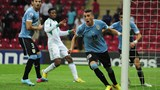Lopez Scores For Uruguay.