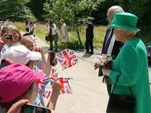 The Queen at Lake District national park