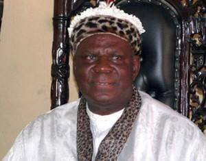 dethroned Obong of Calabar, Edidem Ekpo Okon Abasi-Otu (V)