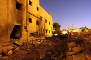 LIBYA-CONFLICT-EXPLOSION