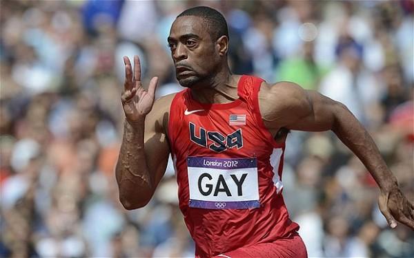 Tyson Gay.