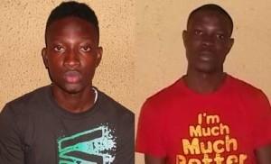 Two of the suspects, Aje Oluwamayowa and Babatunde Bashorun