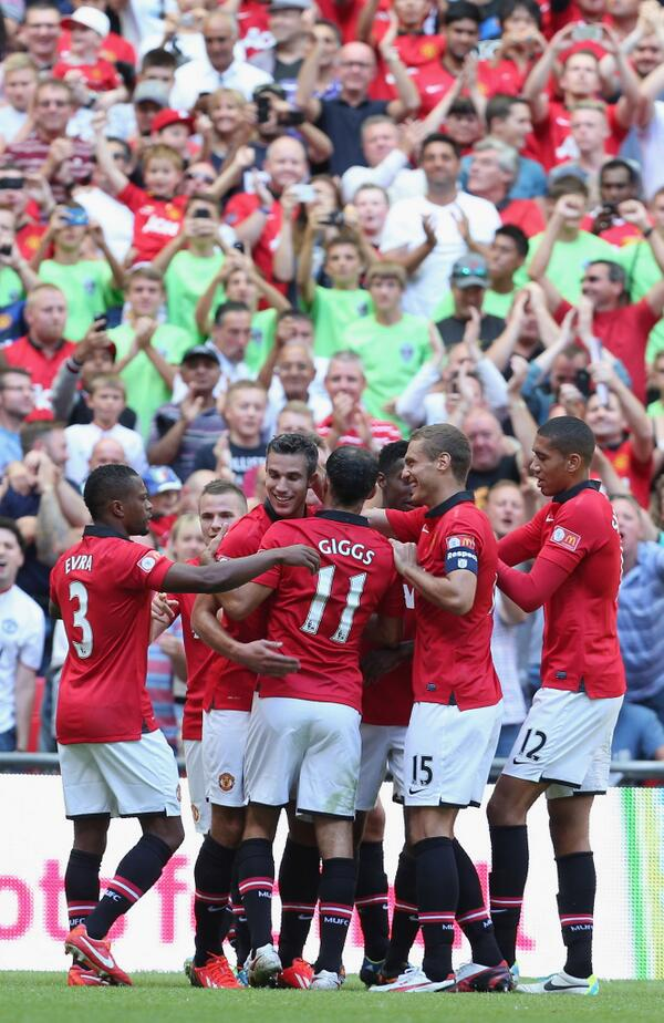 Opta Joe Statistician: Manchester United Has Now Scored Ten Times in Their Last Community Shield Matches- Robin's First Against Wigan Was the Ninth.