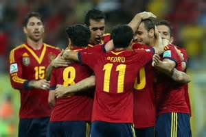 Teammates Celebrates With Soldado After Scoring Against Uruguay.