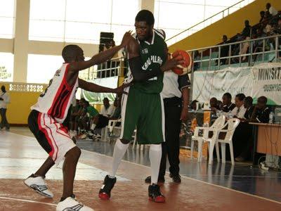 Kano Pillars Basketball Player in Action.