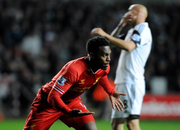 Daniel Sturridge's Leveler a Minute After His Team Conceded From a Jonjo Shelvey Goal.