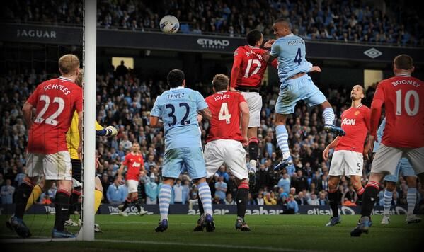 This Vincent Kompany's Goal Decided the 2011/12 Season's Title Race.