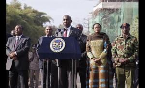 Kenya's Interior Minister, Joseph Ole Lenku