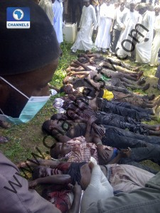 CORPSES OF THE MURDERED STUDENTS. PHOTO CREDIT: CHANNELSTV
