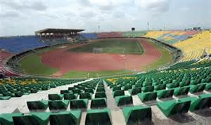 The Teslim Balogun Stadium, Venue of the Sunday Final.