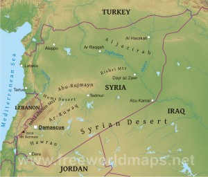 syria-map-physical