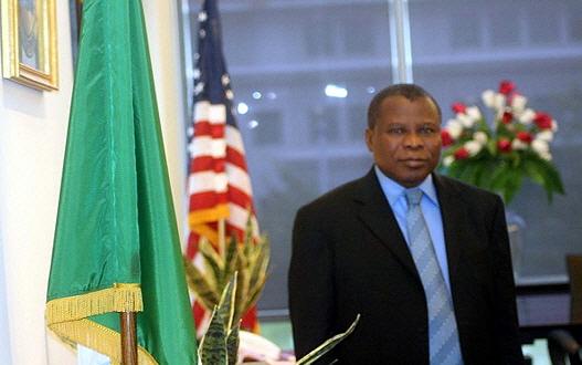 NIGERIA'S AMBASSADOR TO THE U.S PROF. ADE ADEFUYE