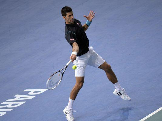 Djokovic Progresses Into the Third Round of the Paris Masters.