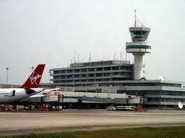 PANDEMONIUM As Italian Woman Refuses Being Checked At Lagos Airport, Insults Officials
