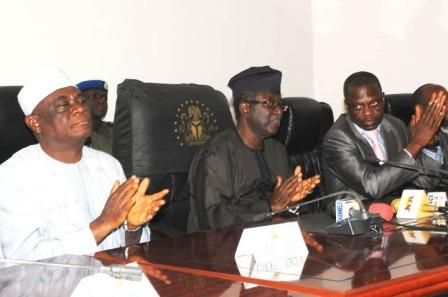 GOV. JANG WITH MEMBERS OF THE STATE HOUSE OF ASSEMBLY