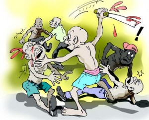 communal-clash-cartoon_358180653-300x242