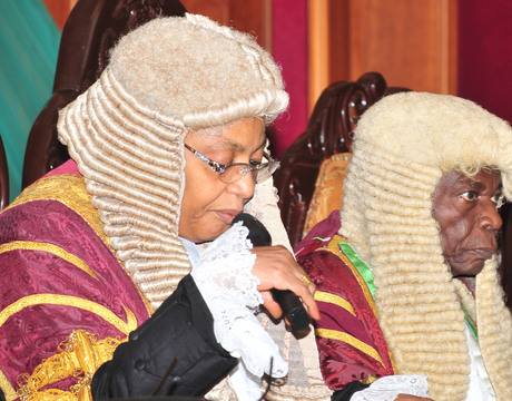Breaking!!! Justice Bulkachuwa steps down from presidential election petition tribunal