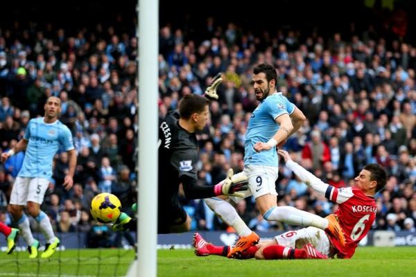 Negredo Scored  City's Second Goal.