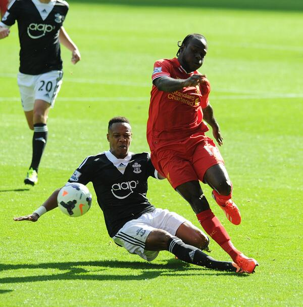 Moses Scored His Liverpool Debut Goal Against Southampton Back in September.