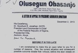 OBJ's letter