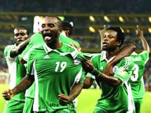 Sunday Mba Celebrates His Afcon 2013 Winning Goal.