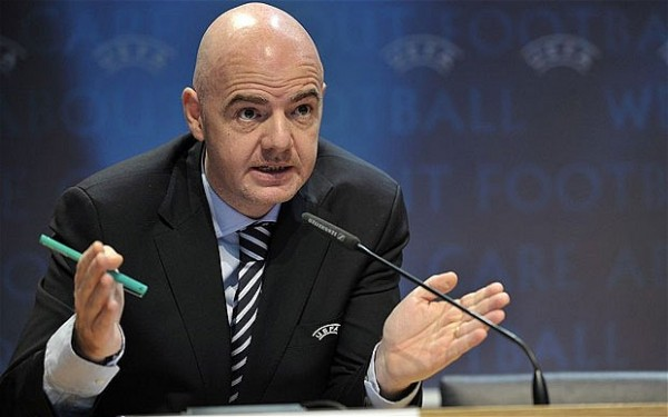 Uefa General Secretary Gianni Infantino Says European Nations Ought to Be Awarded One More World Cup Slot. Image: Getty.