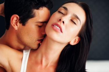Man And Woman Making Love In Bed Images