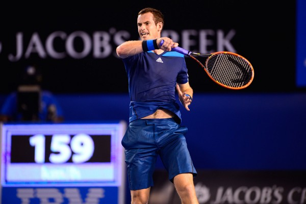 Andy Murray Eases Past Frenchman Vincent Millot On Day Four of the Australian Open. © Ben Solomon for Tennis Australia.