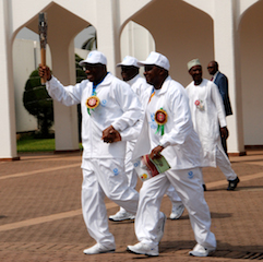 President Jonathan Glad for Nigeria's Participation in the Queen's Baton Relay.
