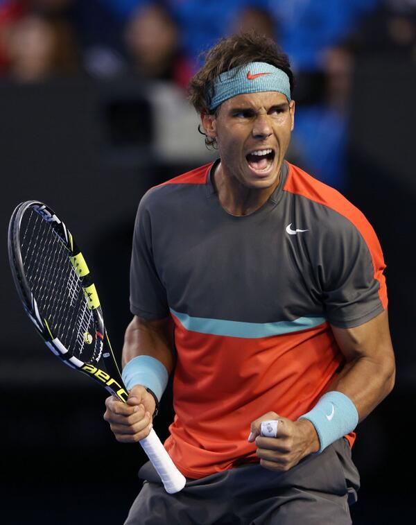 Rafael Nadal Beats Federer in Australian Open Semis.