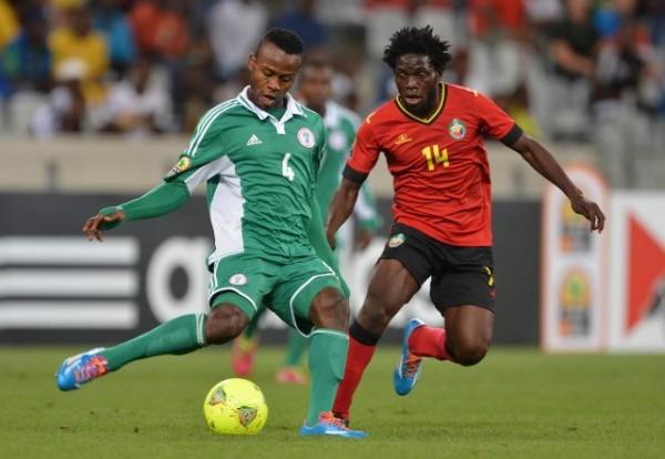Rangers' Ugonna Uzochukwu in Action for Super Eagles.
