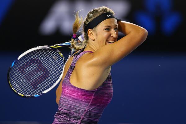 Victoria Azarenka Meets American Sloane Stephens in the Fourth Round. Image by Ben Solomon. Tennis Australia.