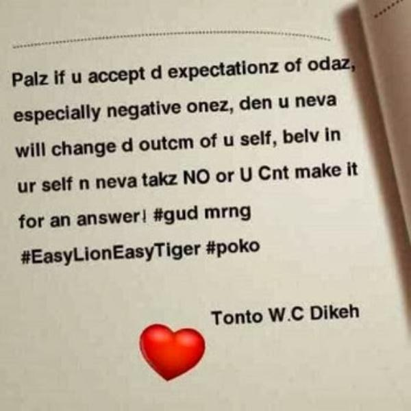 tonto_s_message