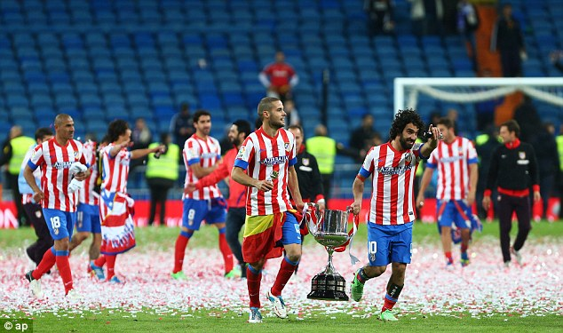 Atletico Madrid Defeated Real Last Season to Lift the Copa del Rey.