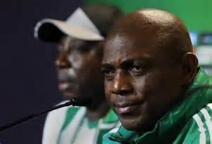 Stephen Keshi Flouted an Order to Stay Back for Thursday's Presidential Gala.