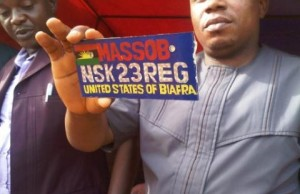 MASSOB Number Plates