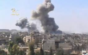 syria air strike