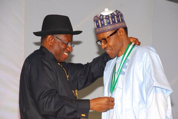 Buhari Has Been Of Great Service To Nigeria – Jonathan Hails Buhari @ 76