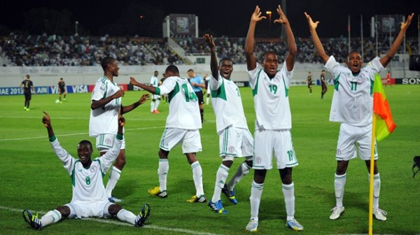 The 35 Lucky Picks from the Flying Eagles Open Screening Will Join Others from the UAE 2013 Squad. Getty Image.