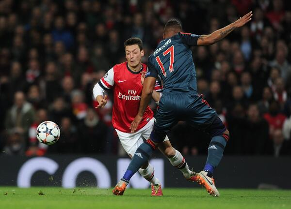 Mesut Ozil is Ruled Out for One Month. Getty Image.